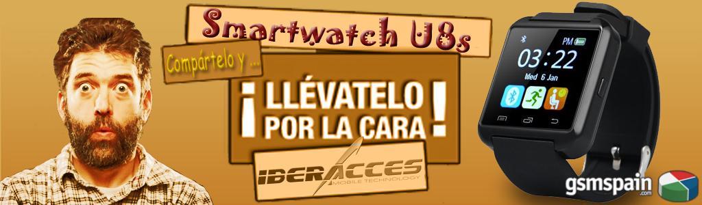 ¿Quieres un Smartwatch por la cara ? Pues venga !!!!!!!!!!
