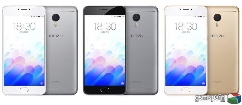 [vendo] Meizu M3 Note 3gb Ram Y 32 Gb Memoria, A Estrenar Por 165 Euros