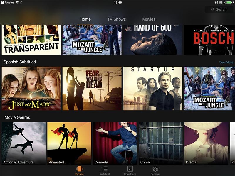 Amazon Prime Video llega a España y es gratis para usuarios Premium