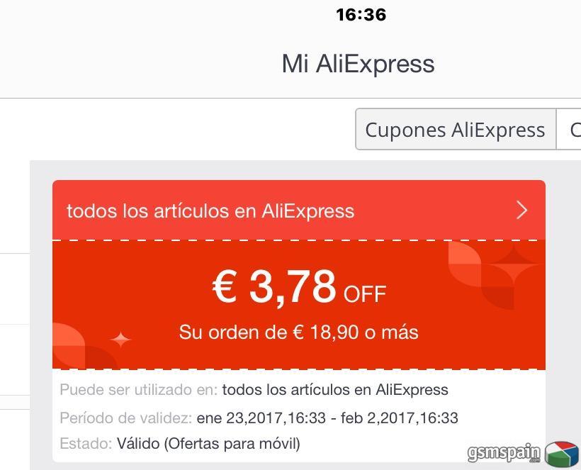 [CHOLLO] $4 en Aliexpress (al descargasre su app)