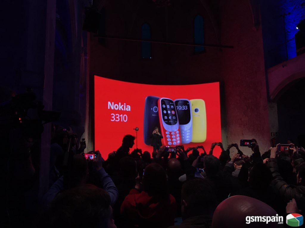 Nokia 3310: Un retorno al mercado más que sonado