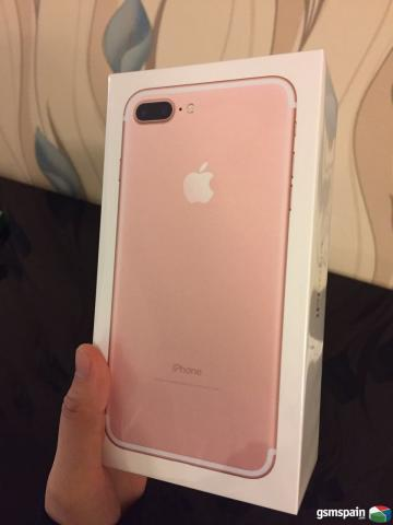 vendo iphone 7 plus 128gb rosa libre origen. Black Bedroom Furniture Sets. Home Design Ideas