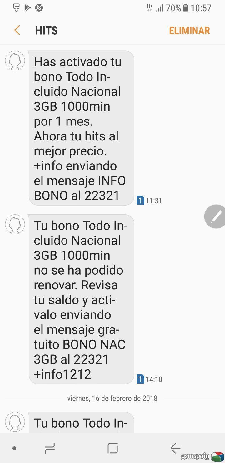 Los SMS llegan cuando quieren