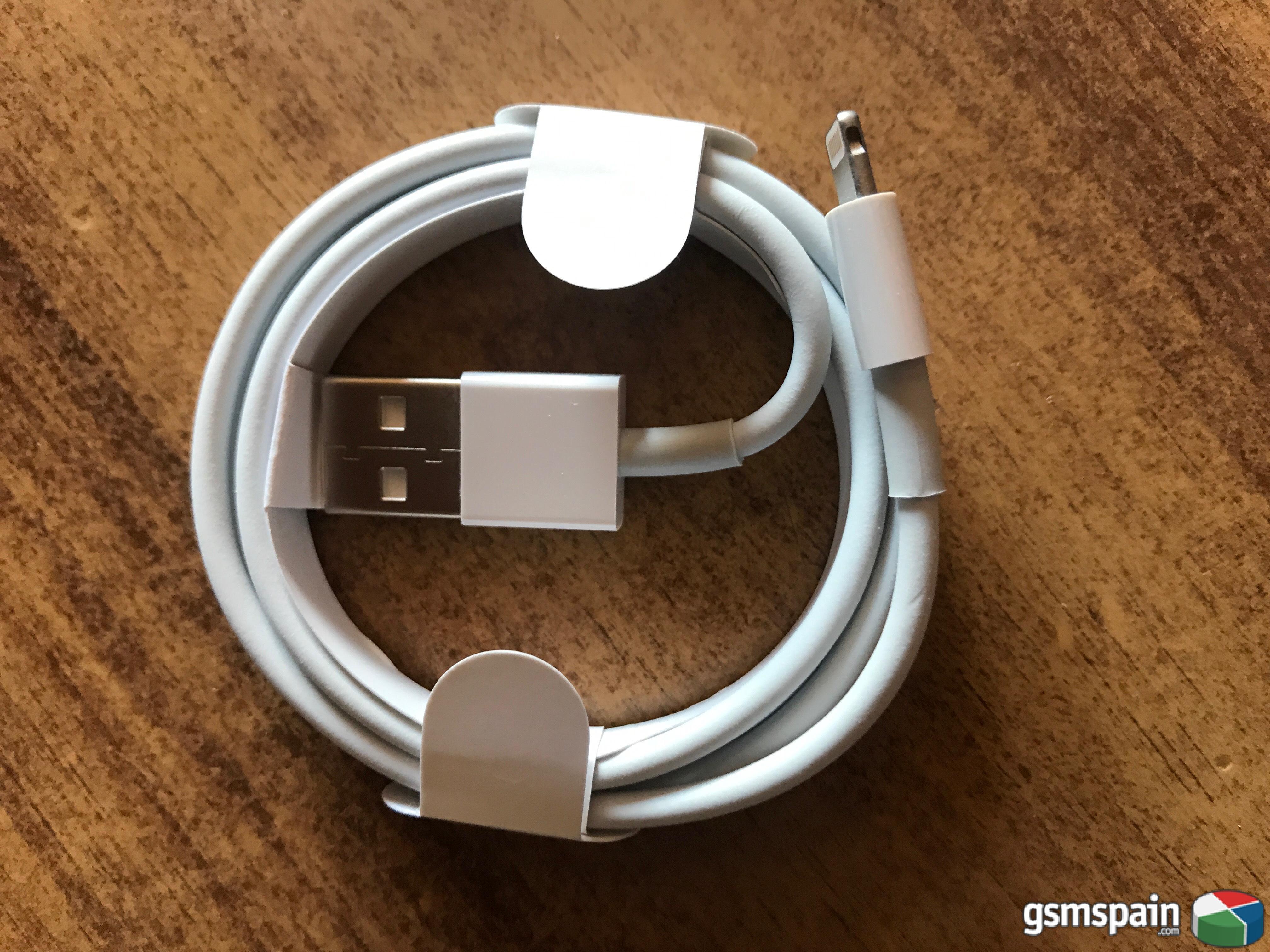 [VENDO] Cable USB Datos Original Apple iPhone 7, 7 Plus, 8, 8 Plus, X, iPad, iPod. 4,00€ g.i.