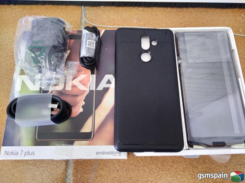 [VENDO]  Nokia 7 plus como nuevo usado 5 dias buen precio  270gi