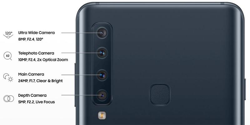 Samsung busca revitalizar su gama media con el nuevo Galaxy A9 con cámara cuádruple