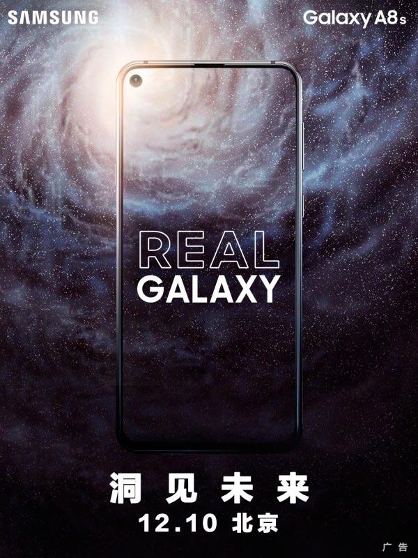 Samsung presentará el Galaxy A8s con taladro antes que Huawei el Nova 4