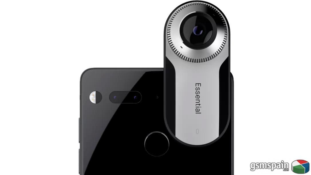 [VENDO] Essential Phone Ph1 con golpe en cristal + cámara 360. LEED BIEN. 95 EUROS.