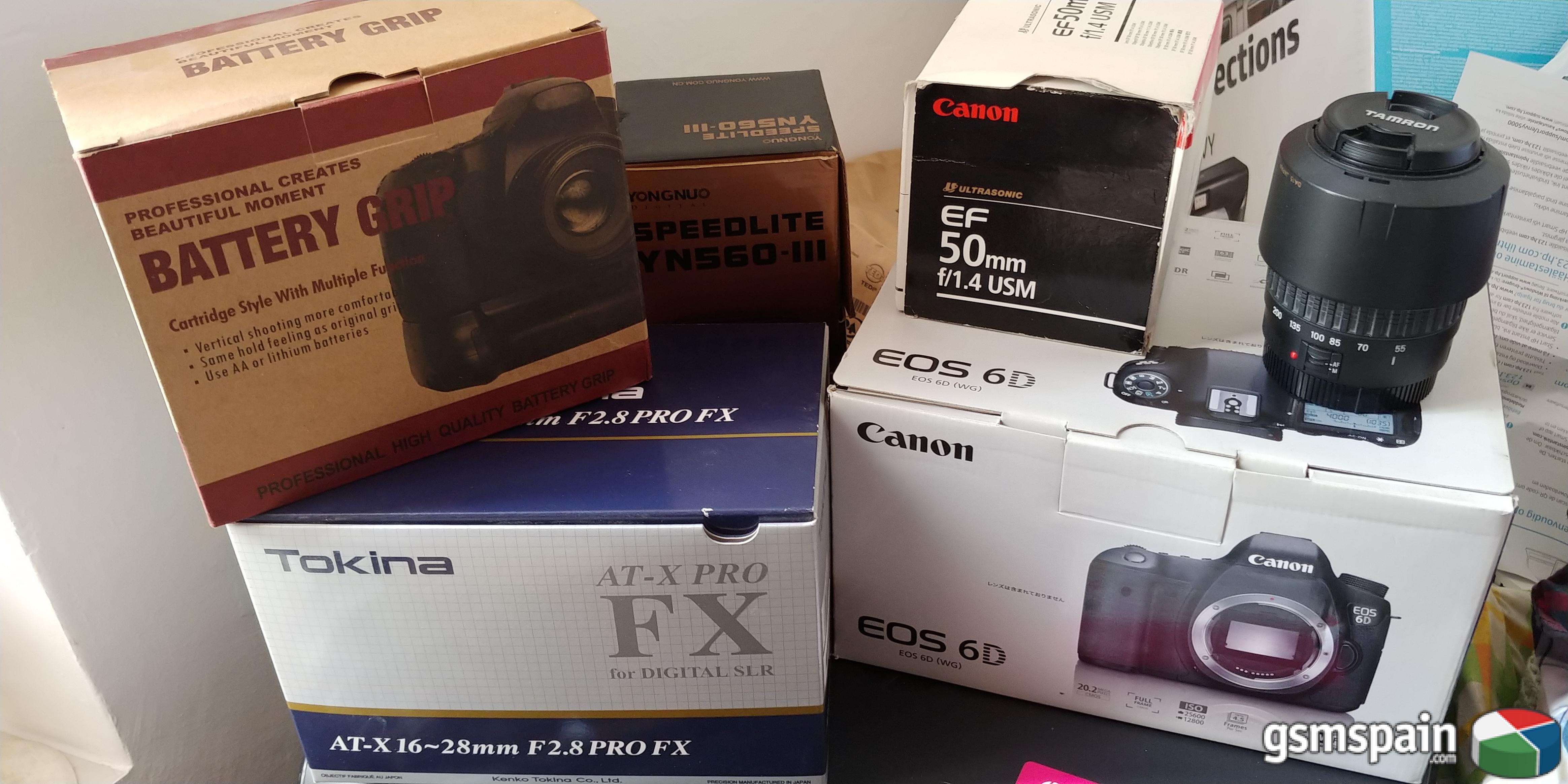 [VENDO] Pack Canon 6D