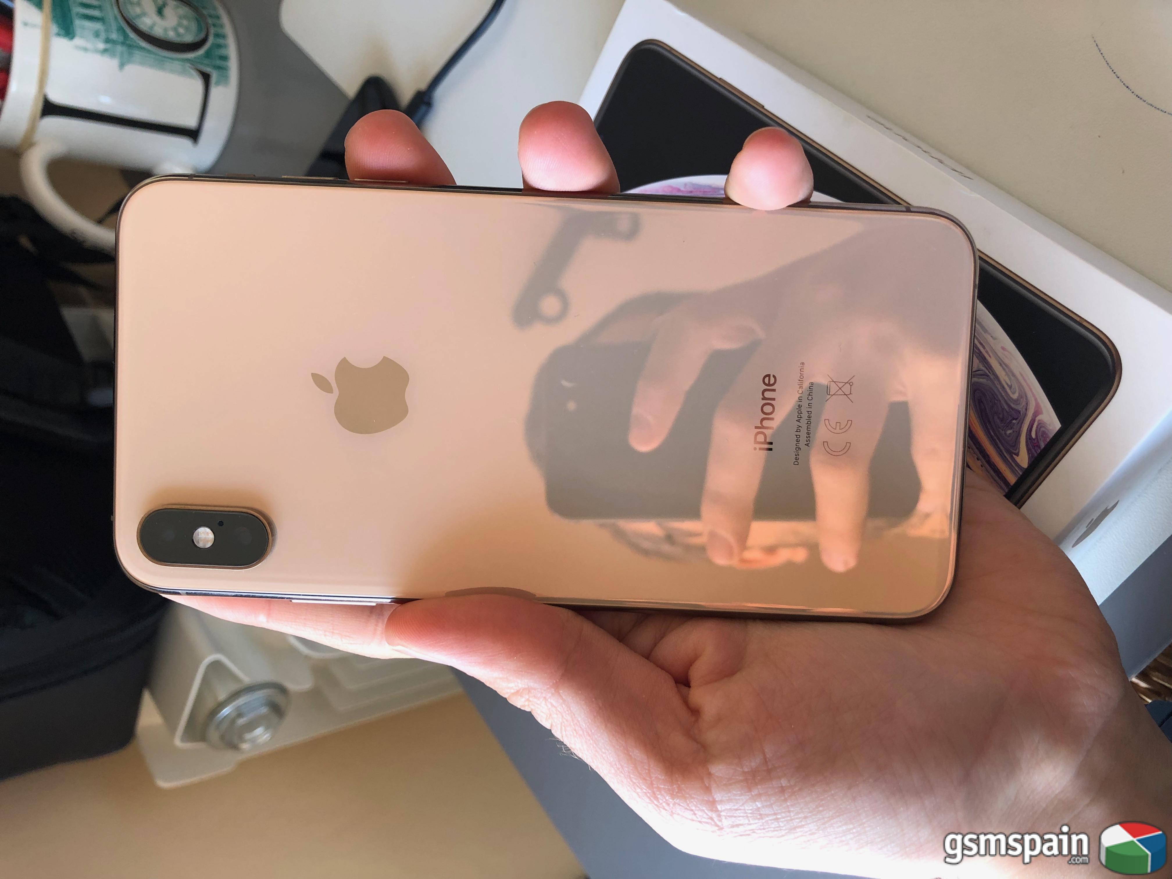 [VENDO] *** iPhone XS Max 64GB Dorado + Garantía ***