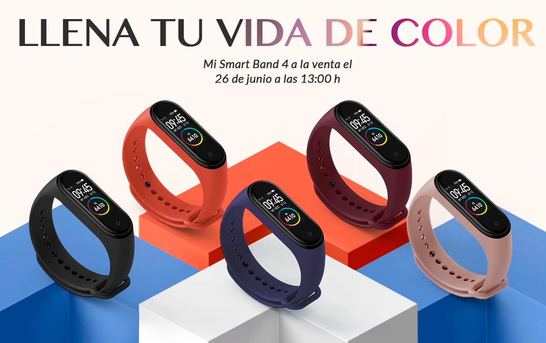 La Xiaomi Mi Smart Band 4 se lanza hoy en España
