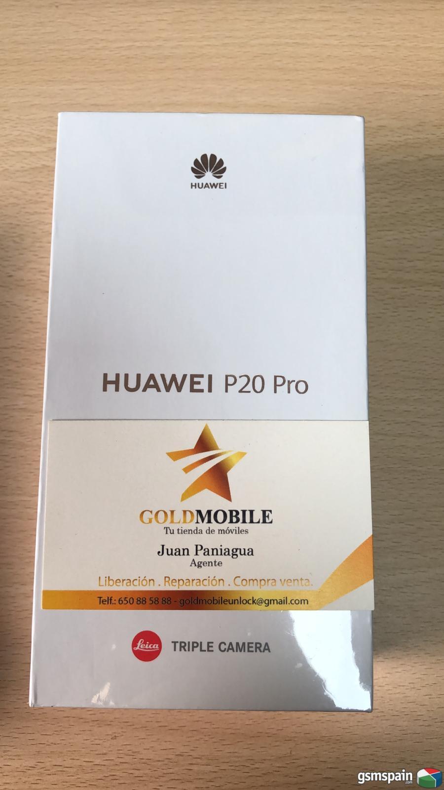 [vendo] ***** Huawei P20 Pro 6/128 Azul Nuevo Precintado *****