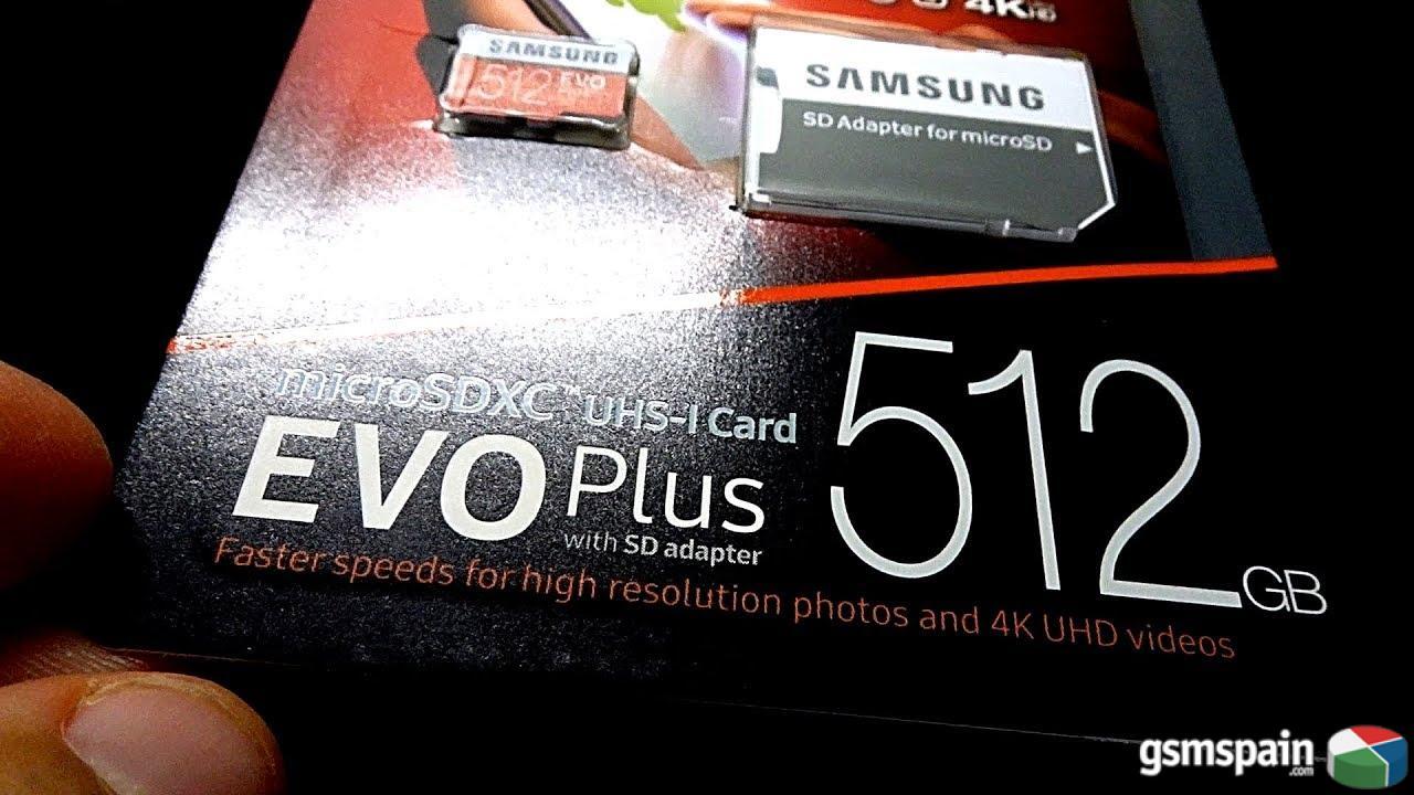 [VENDO] MicroSD Samsung Evo Plus 512gb