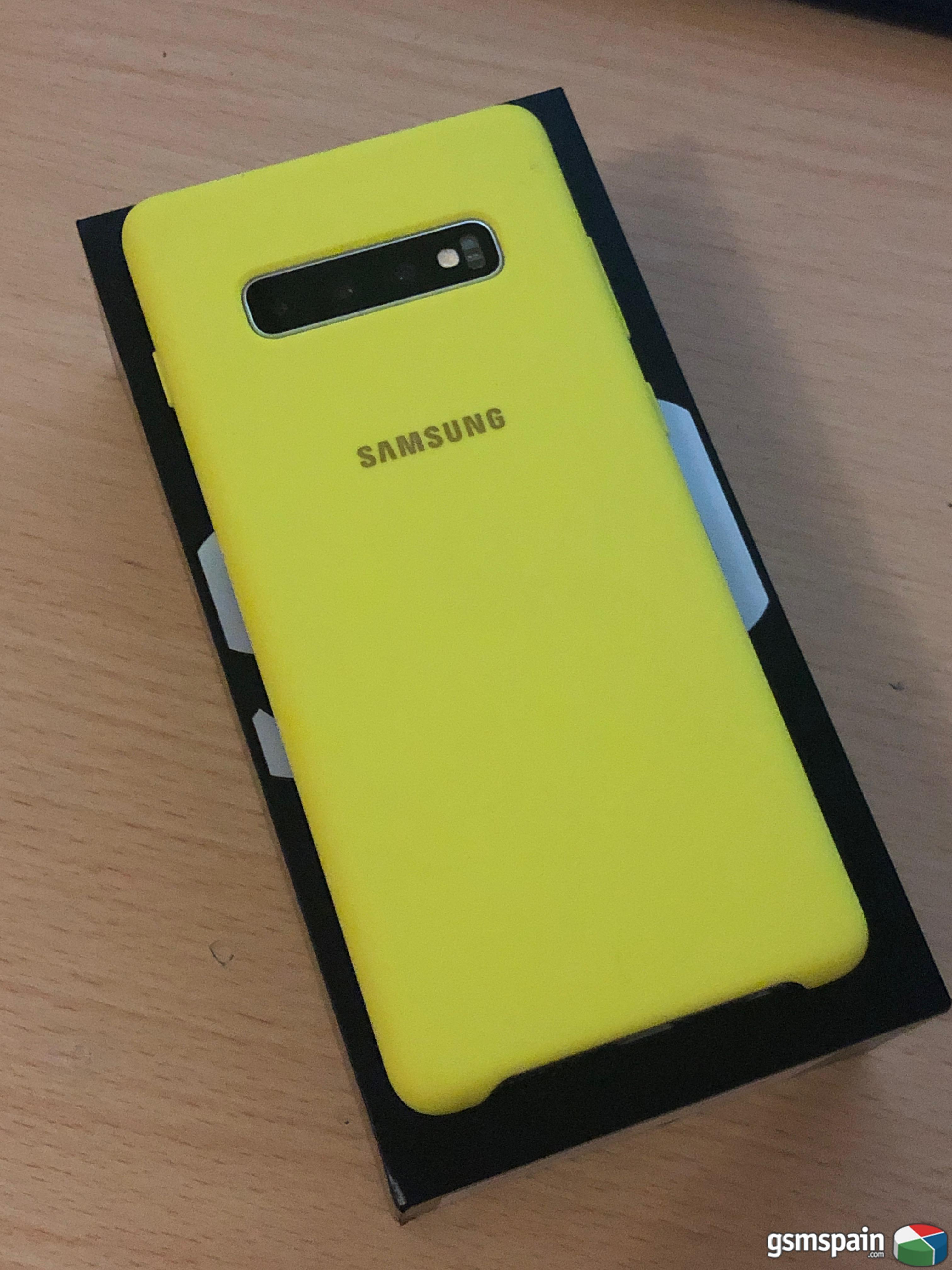 [VENDO] Samsung Galaxy S10+ 128GB White Prism + Funda oficial SAMSUNG
