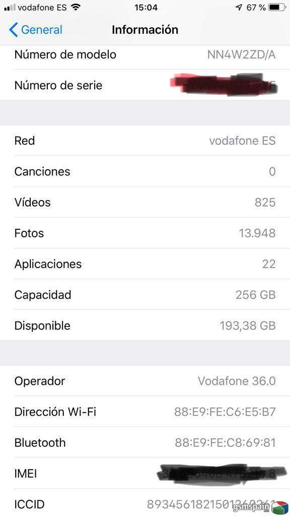 [VENDO] Iphone 7 plus 256gb negro mate