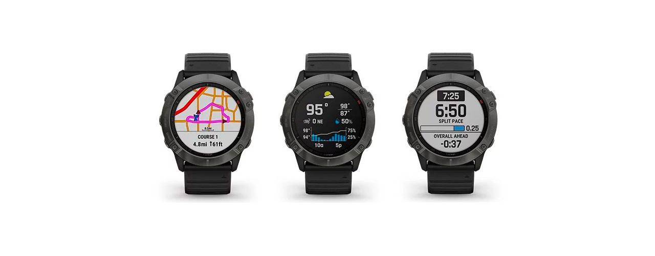 El Garmin Fénix 6X Pro Solar es el primer smartwatch alimentado por luz solar
