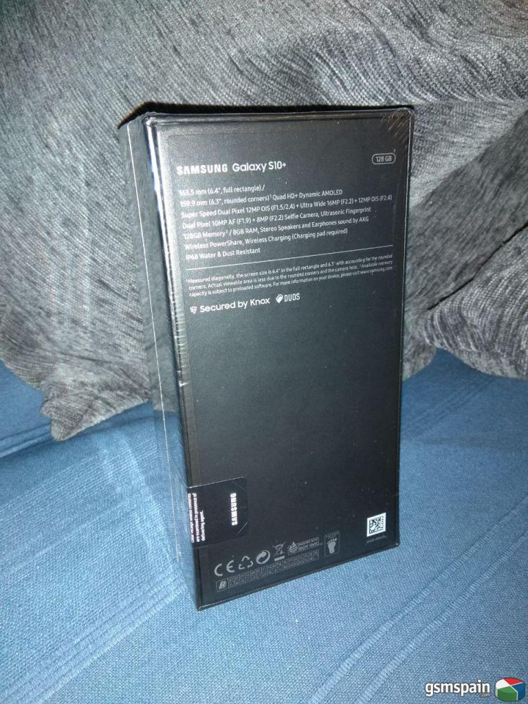 [VENDO] Samsung * Modelo: Galaxy S10+ 128 Gb  VENTA EN MANO EN MADRID