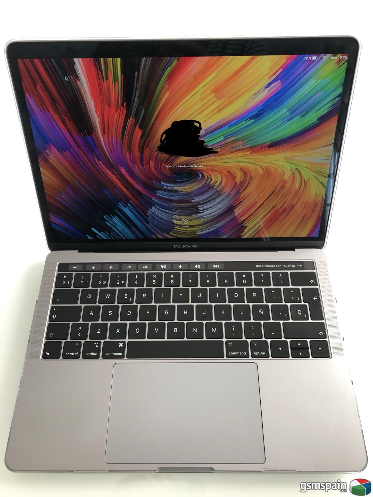 [VENDO] MacBook Pro 13 con touchbar 2018