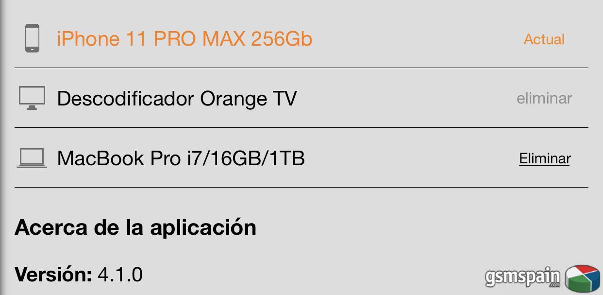 [PROBLEMA] Error Orange tv en ios 13.1.2