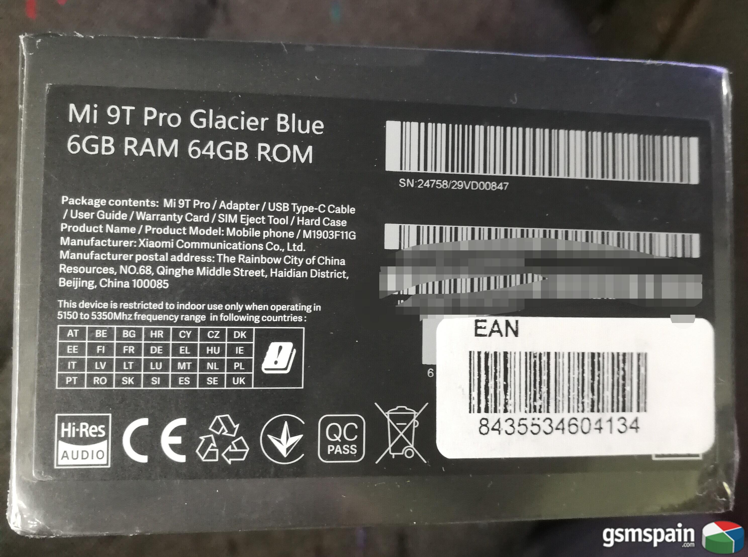 [CAMBIO] Xiaomi MI9t PRO