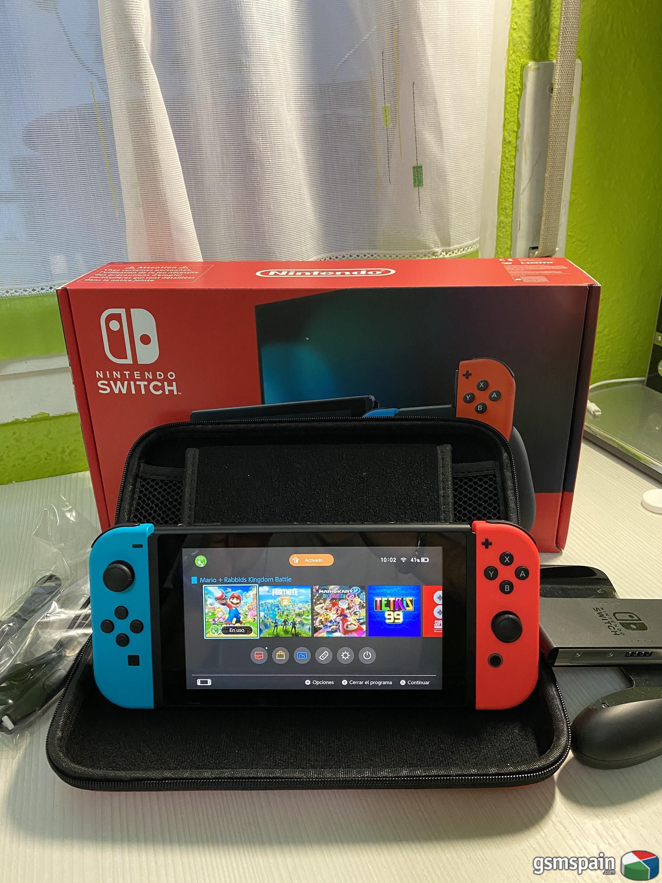 [VENDO] Nintendo Switch + Extras