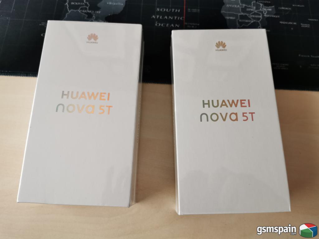[VENDO] Huawei Nova 5T 128GB Negro PRECINTADO