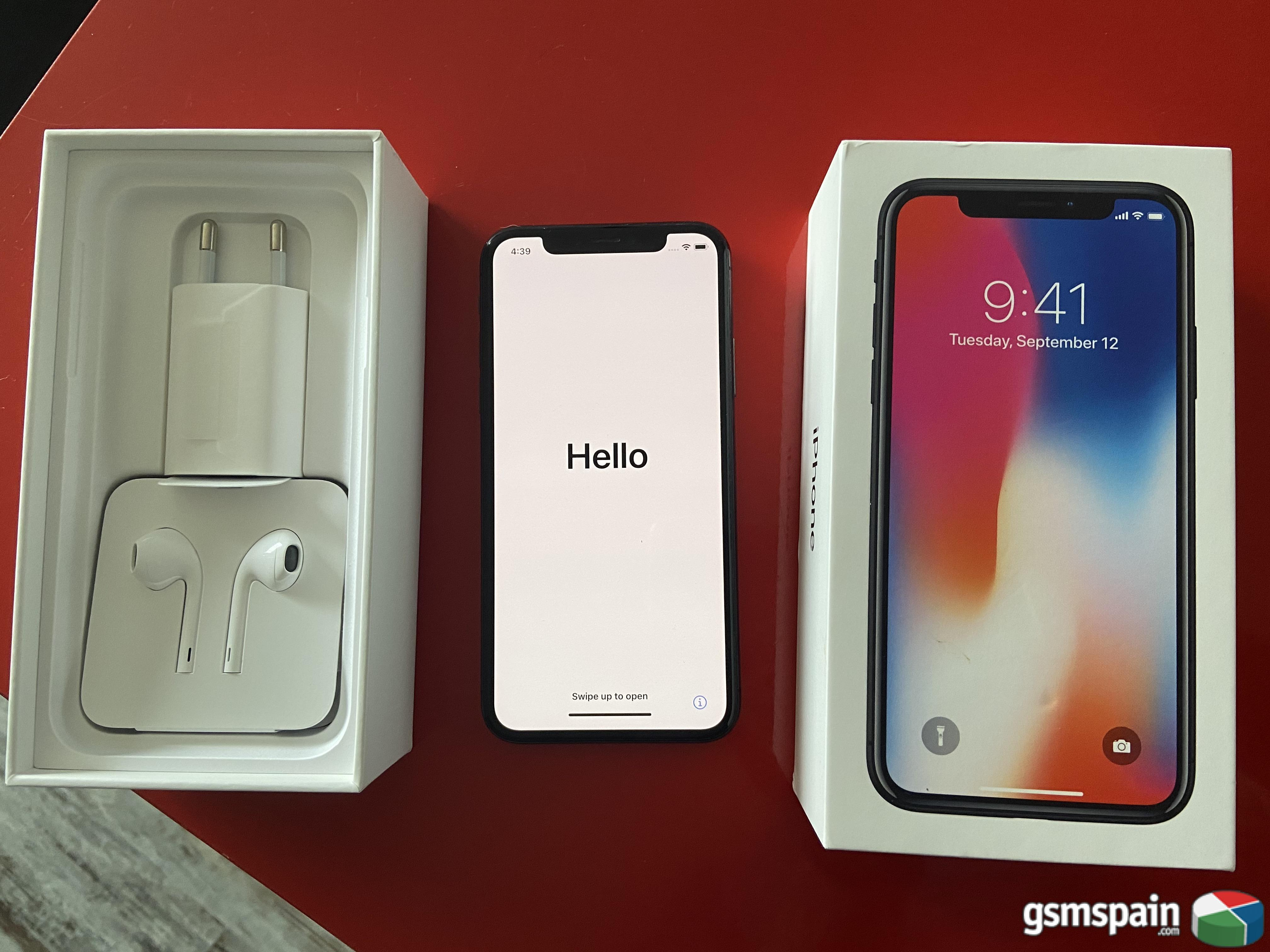 [vendo] Iphone X 64gb Gris Espacial