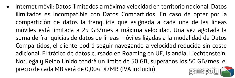 [CLUB] Datos Ilimitados por 39,95€