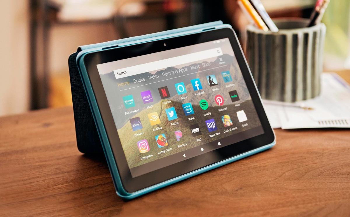 """Amazon actualiza sus tablet Fire HD 8 y añade un modelo """"plus"""""""