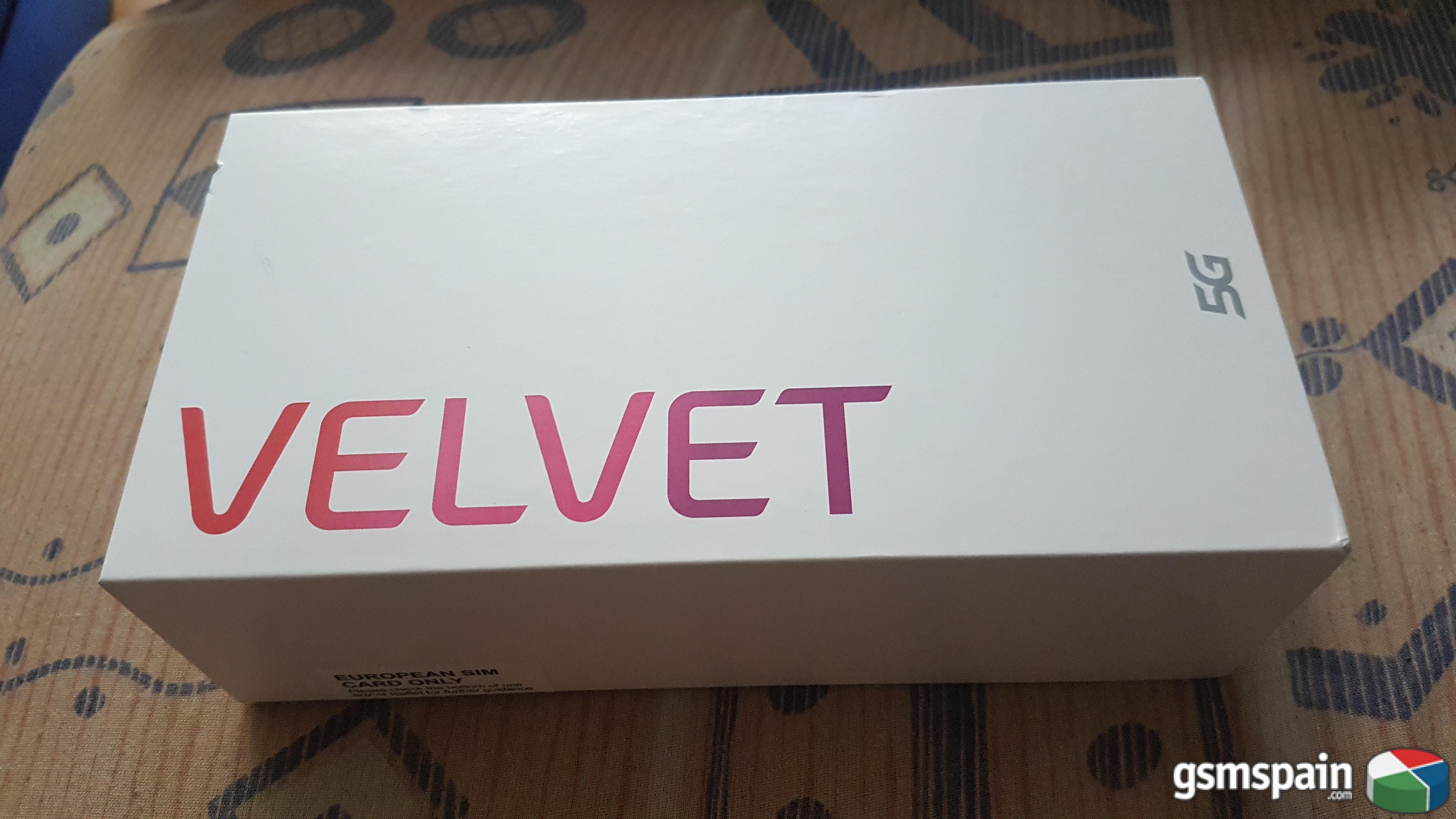 [VENDO] Lg Velvet 5G Precintado con factura
