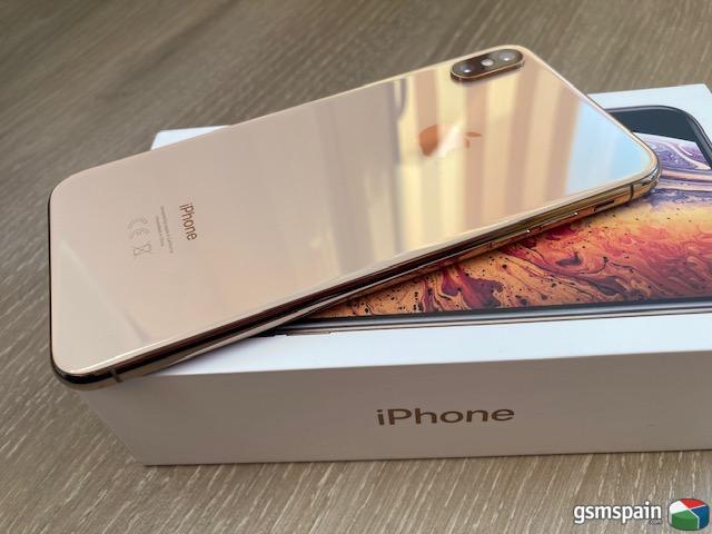 [VENDO] IPhone XS Max 64GB Gold APPLECARE+ ::: 500€