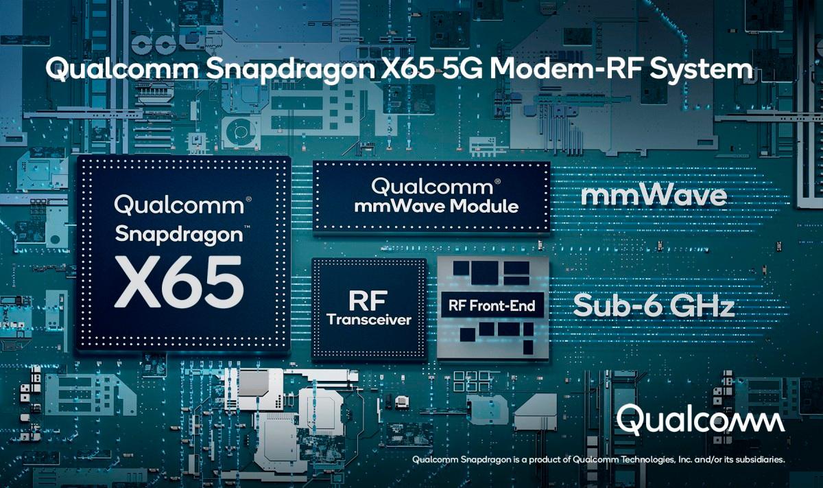 Qualcomm presenta su nueva generación de Modem 5G X65