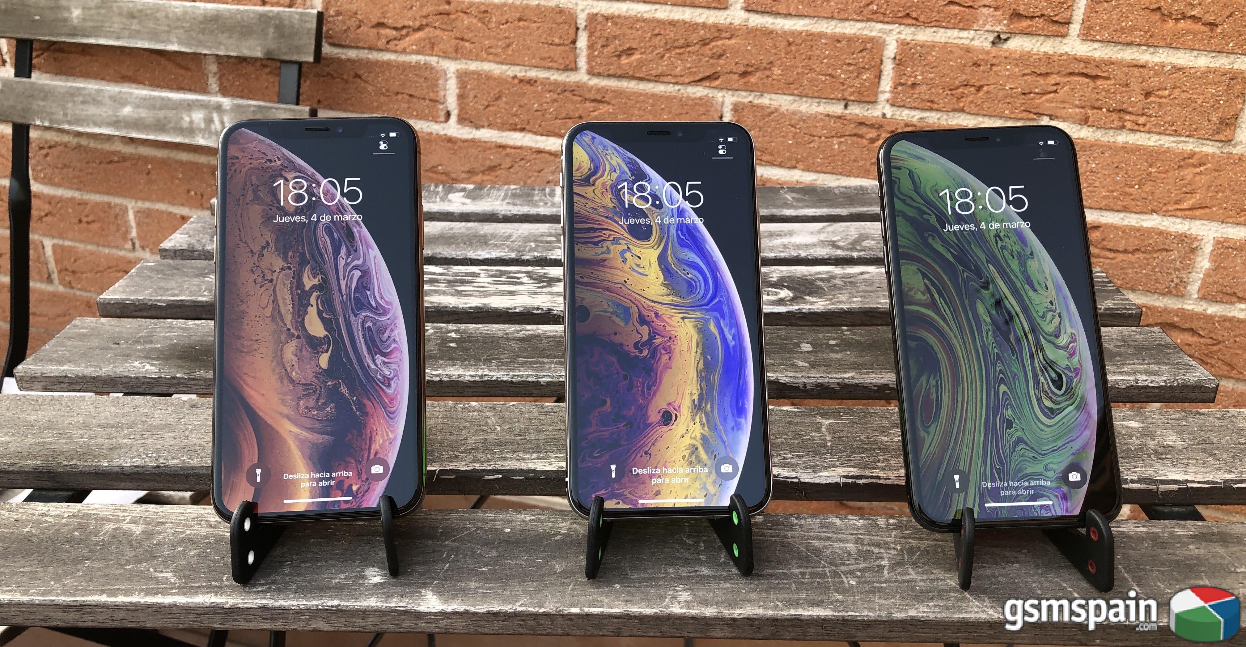 [VENDO] *** Apple Iphone XS 256gb gold, silver y space gray ***