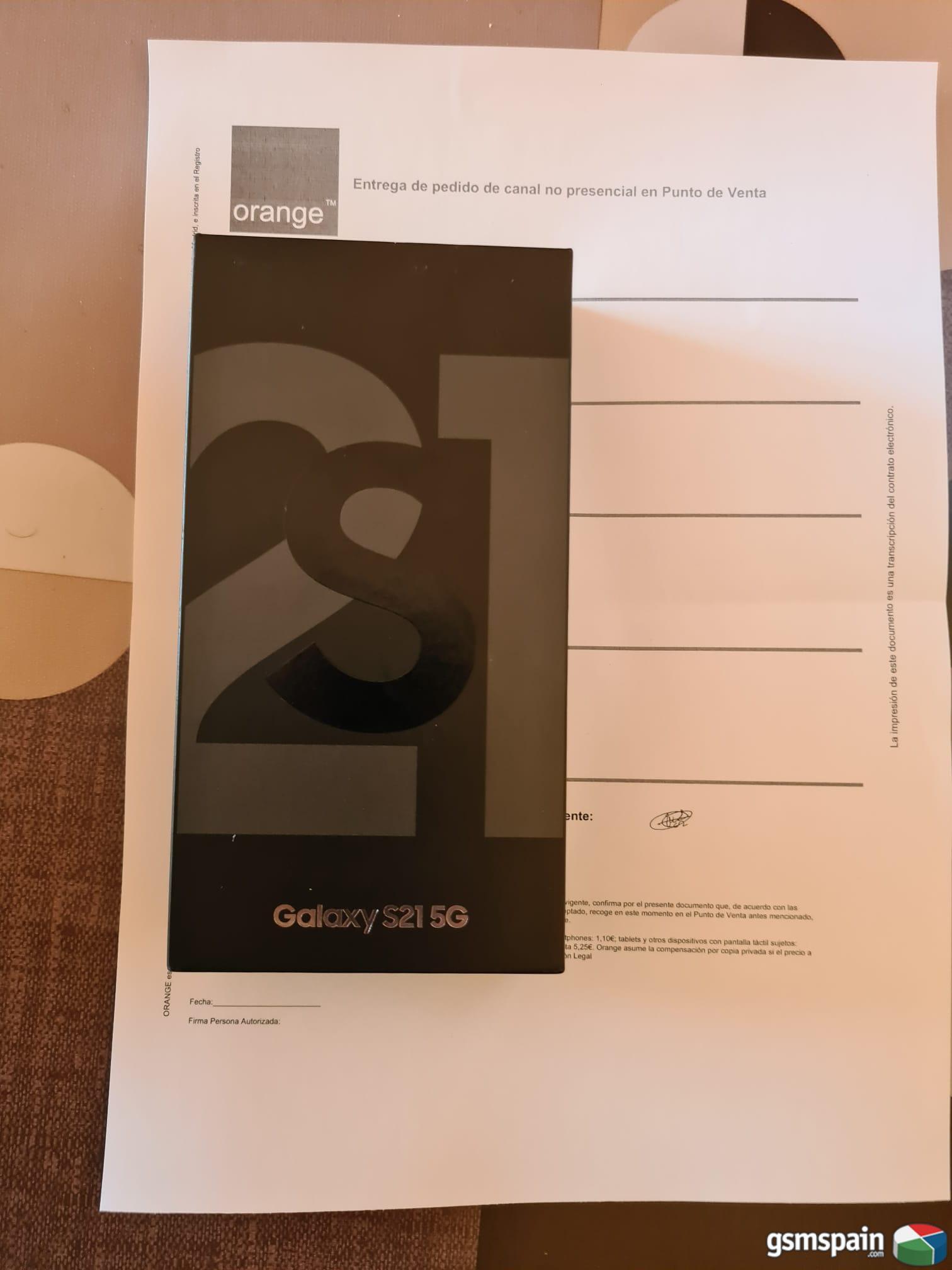 [VENDO] Samsung Galaxy S21 5G 128gb Gris precintado 625€ G.I. !!!!
