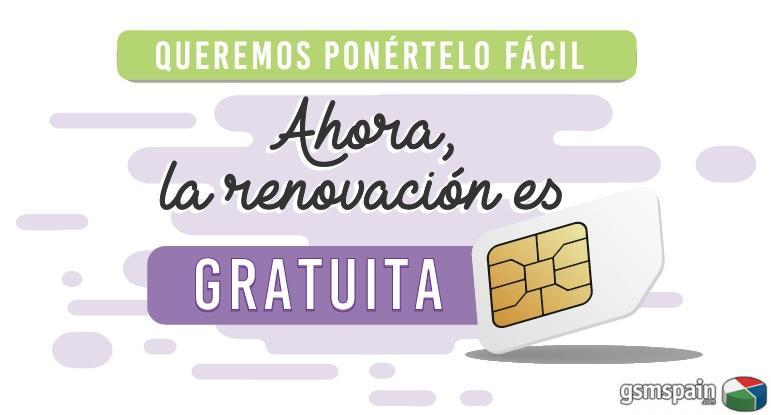 RENUEVA TU SIM DE Hits Mobile GRATIS - Envío Gratuito