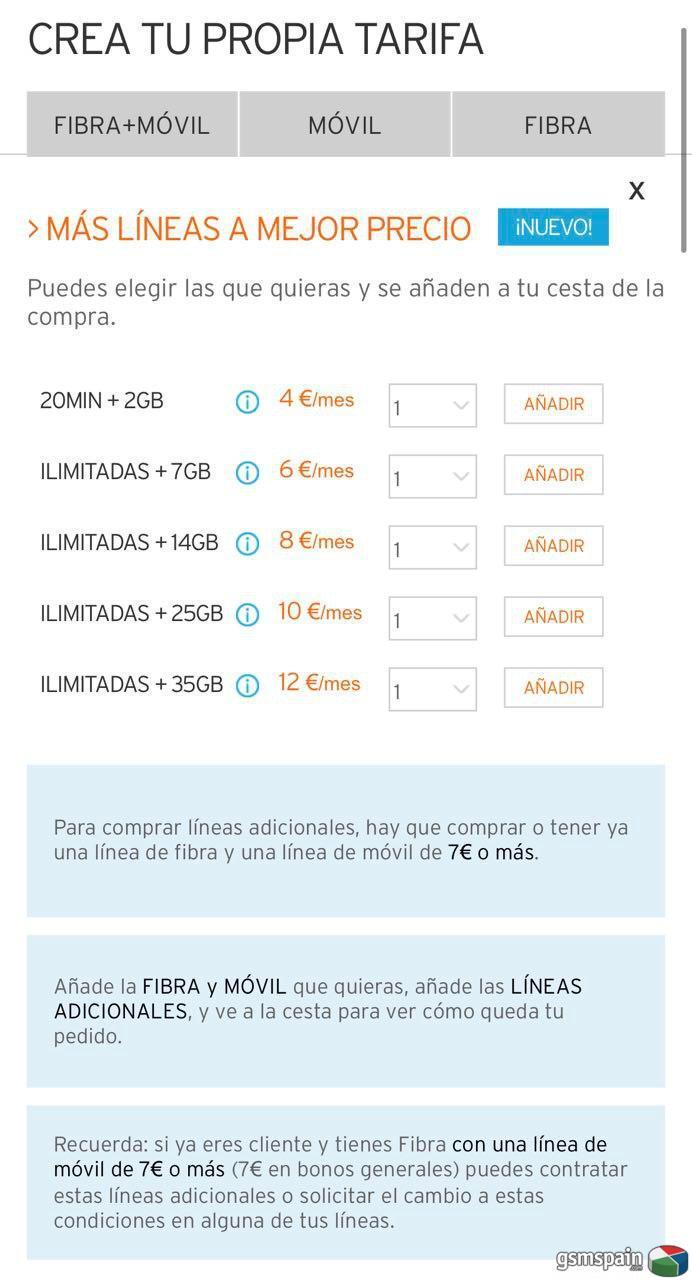 [HILO OFICIAL] Segundas líneas a precio especial en los pack fibra/móvil simyo (lunes 23 agosto )