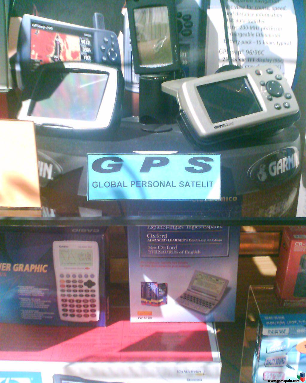¿Qué significan las siglas GPS?