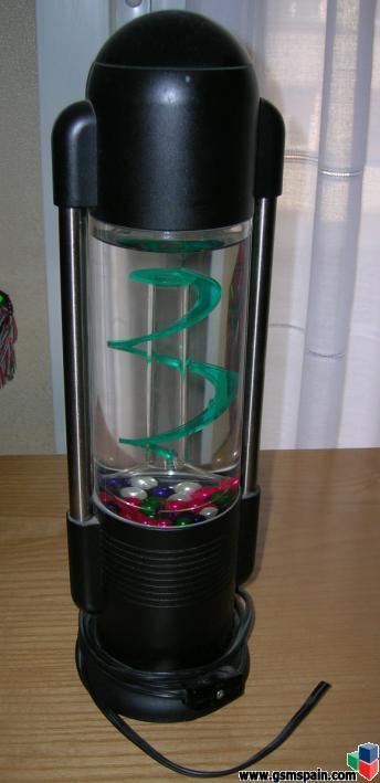 Vendo lampara de mesa de agua y burbujas preciosa for Vendo estanque para agua