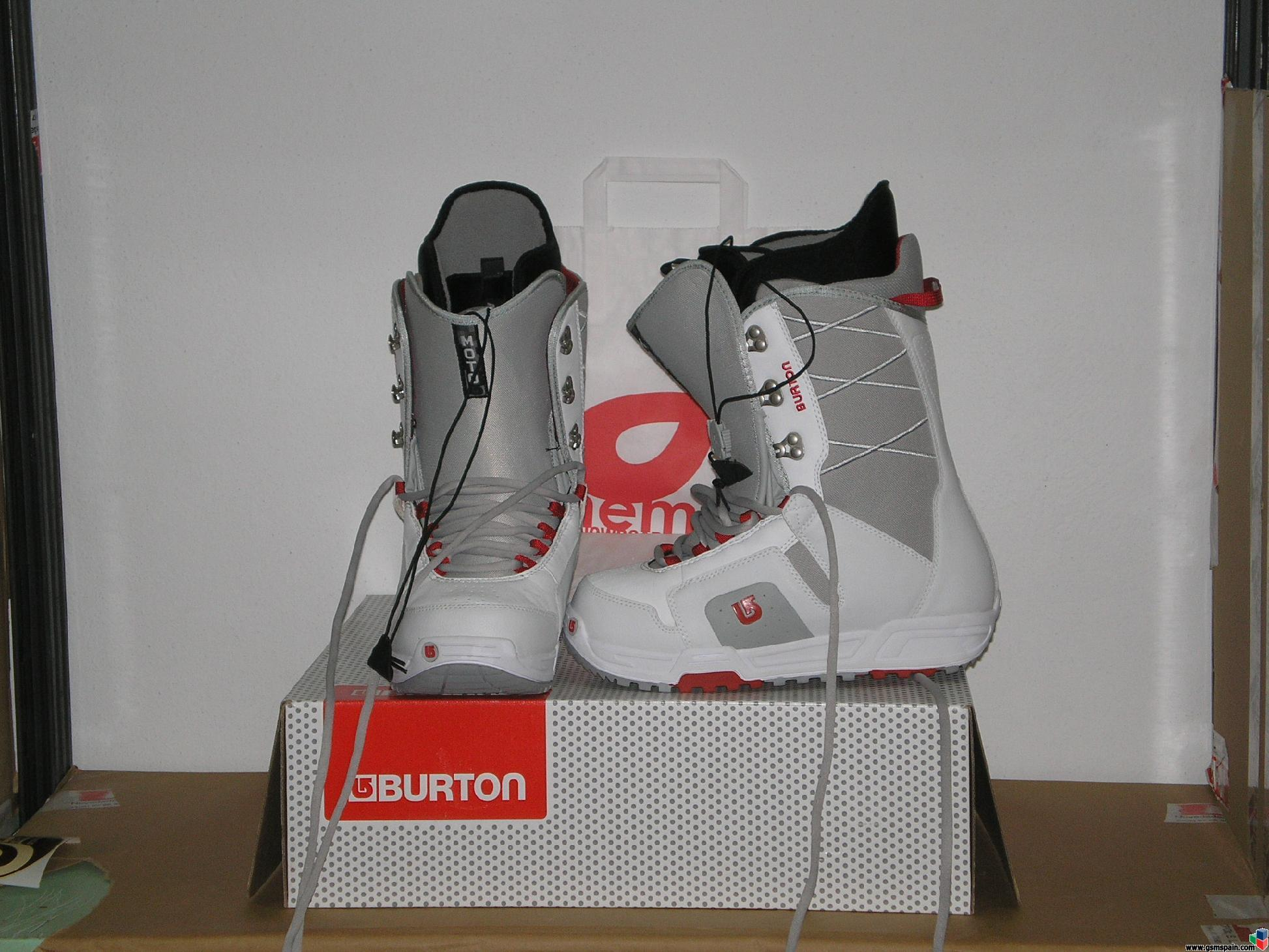 Botas de Snow, Forum y Burton. REGALADAS Ultimas tallas