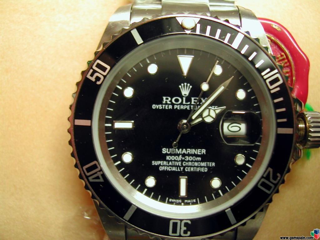 Foros > Compra-Venta > Otros > Rolex Submariner Replica