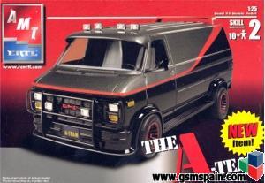 "Vendo furgoneta de ""El Equipo A"""