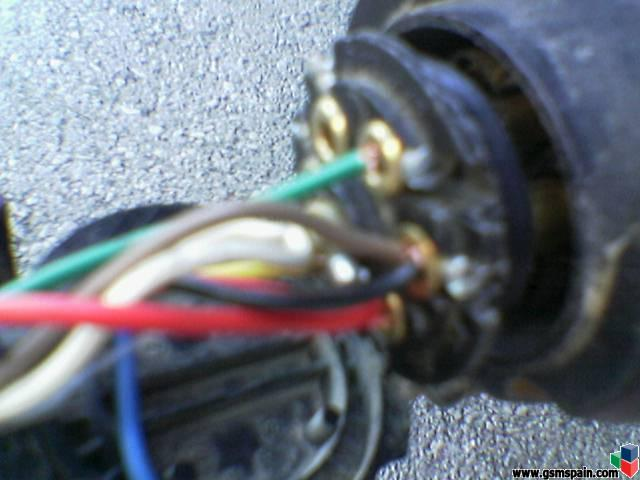 Problema con conexion electrica con remolque de siete polos