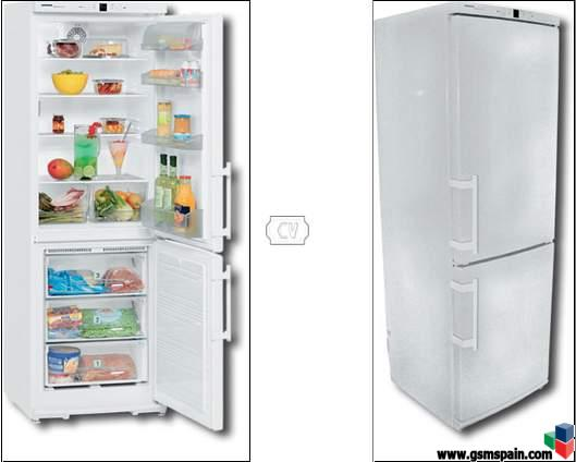 vendo frigorifico combi liebherr no frost. Black Bedroom Furniture Sets. Home Design Ideas