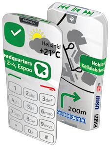 Nokia GEM, un smartphone táctil hasta el final