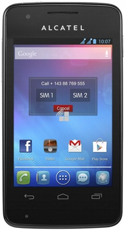 Alcatel one touch 4030 manually